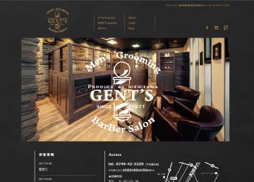 Men's Grooming BarBer Salon GENT'S